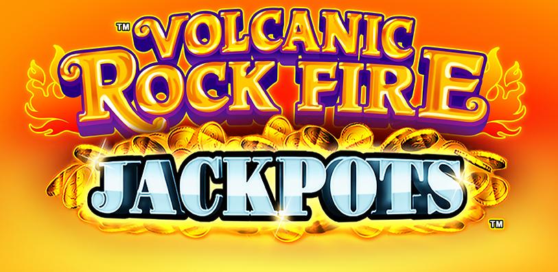 Volcanic Rock Fire Jackpots Logo