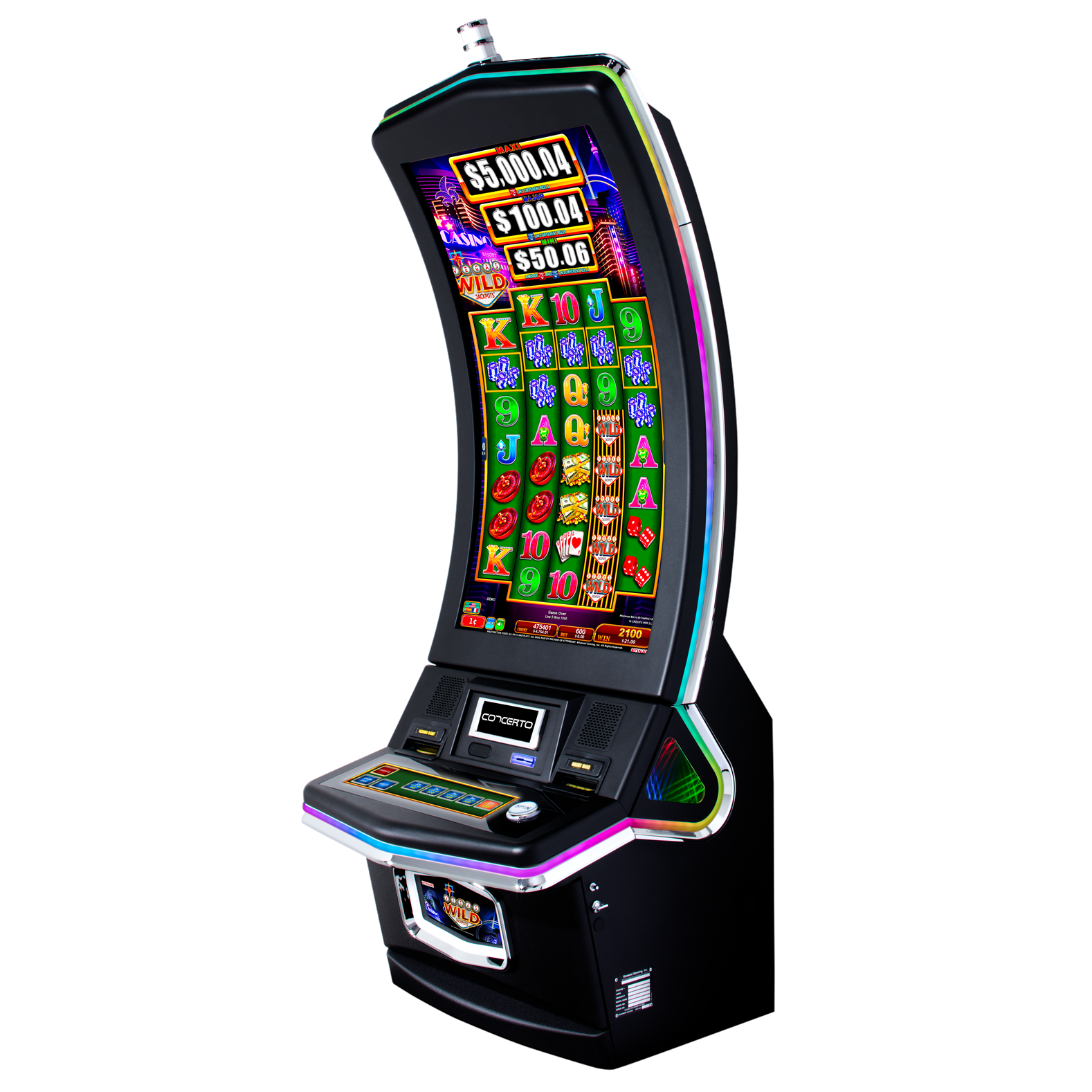 Vegas Wild Jackpots | Concerto Crescent