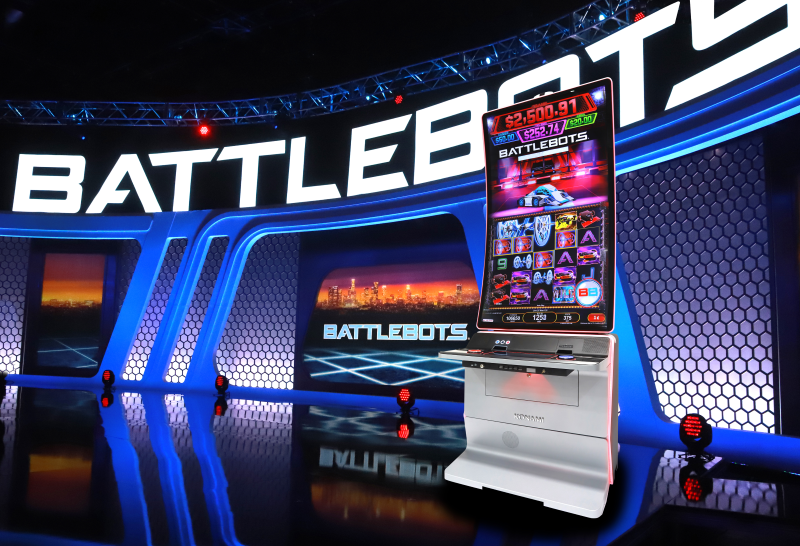 BattleBots Slot Series Konami Gaming, Inc. 2021 World Championship Season 6 Las Vegas