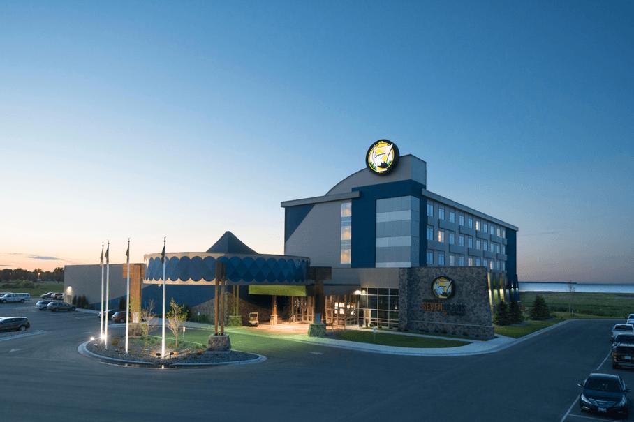 Exterior-View-of-Seven-Clans-Casino-Warroad