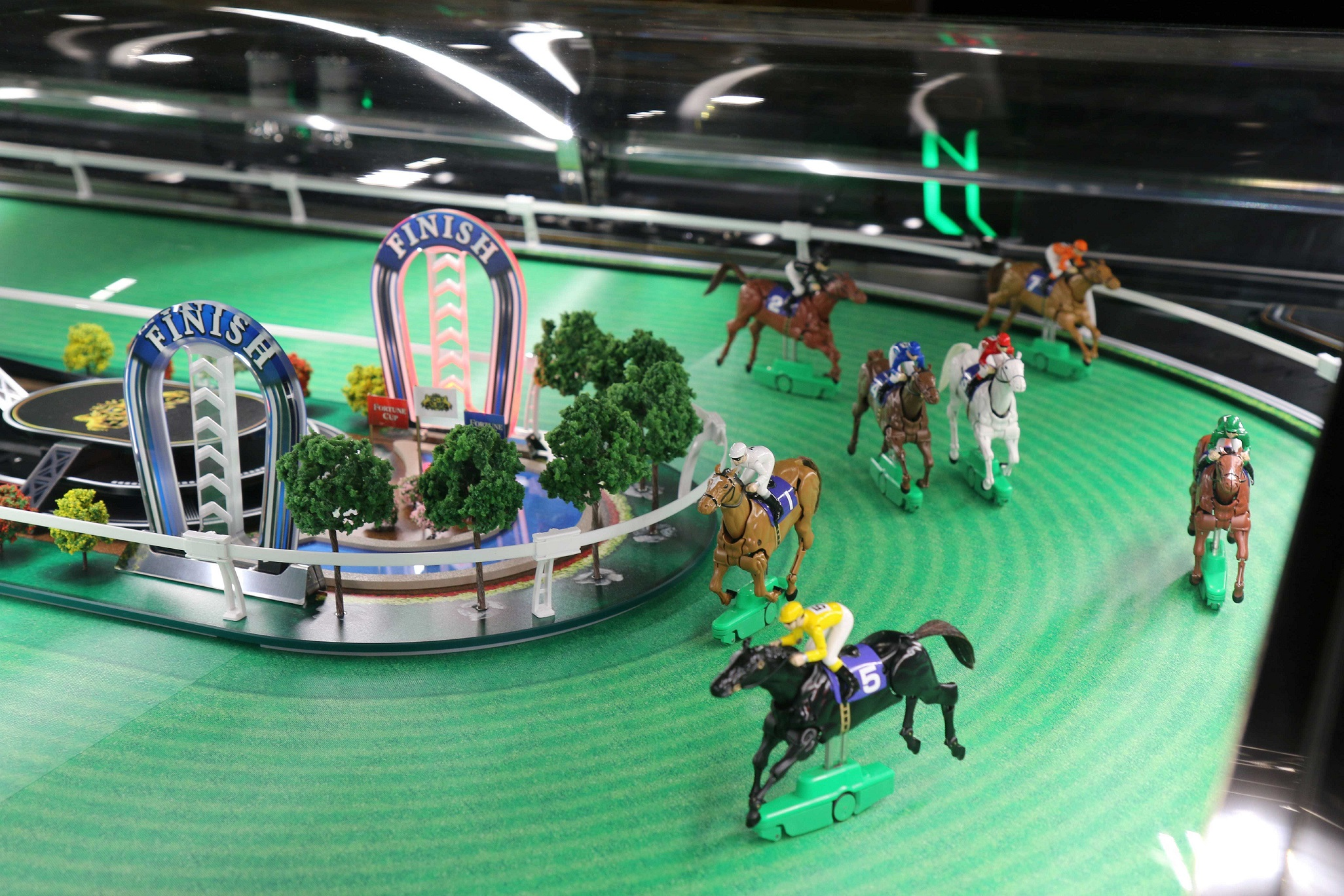Fortune Cup Multi-station Horse Racing Game Konami