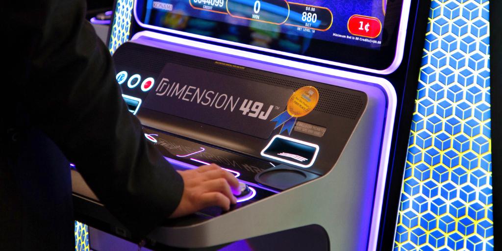 Gaming andTechnology Awards Best Slot Product DIMENSION 49J Konami Gaming, Inc.