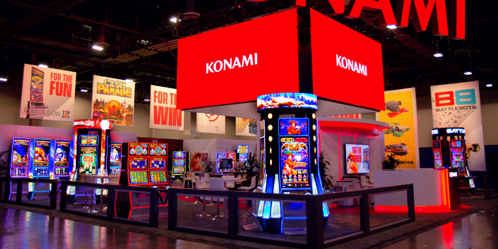 Konami Gaming, Inc. 2021 G2E Las Vegas Global Gaming Expo New Games SYNKROS tw