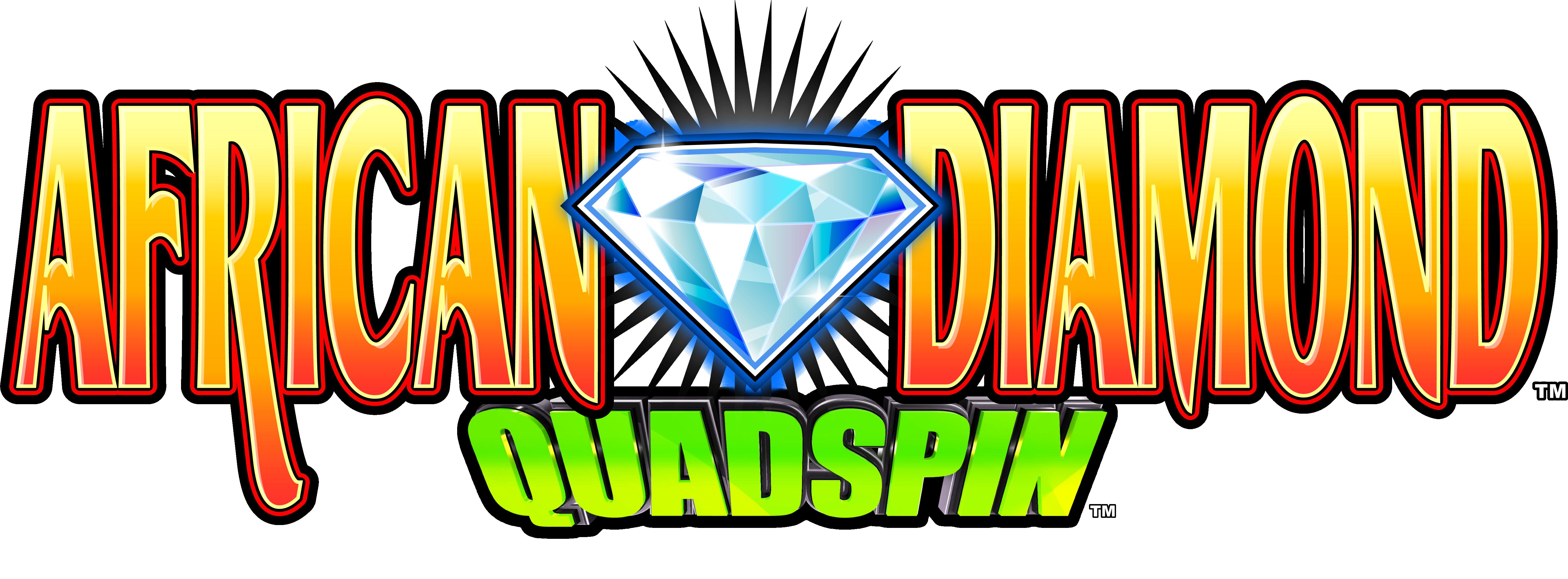 African Diamond Quadspin Logo