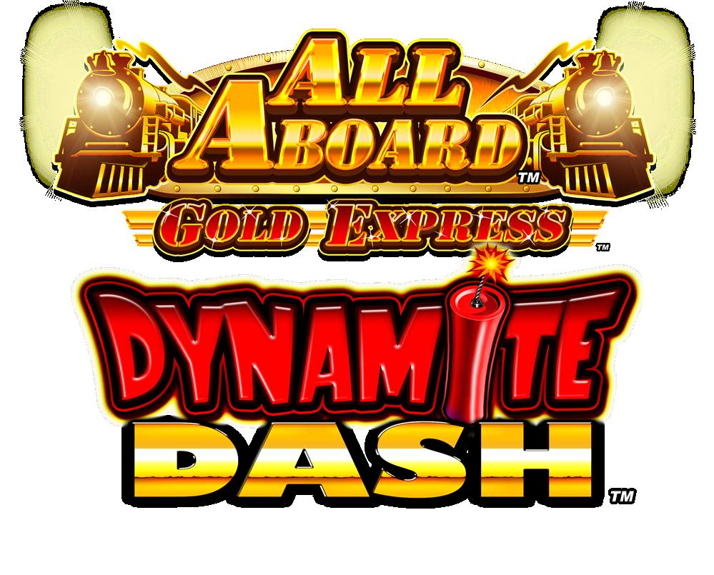 All Aboard Dynamite Dash Gold Express LOGO