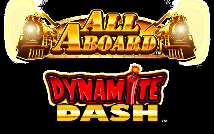 All Aboard Dynamite Dash Logo