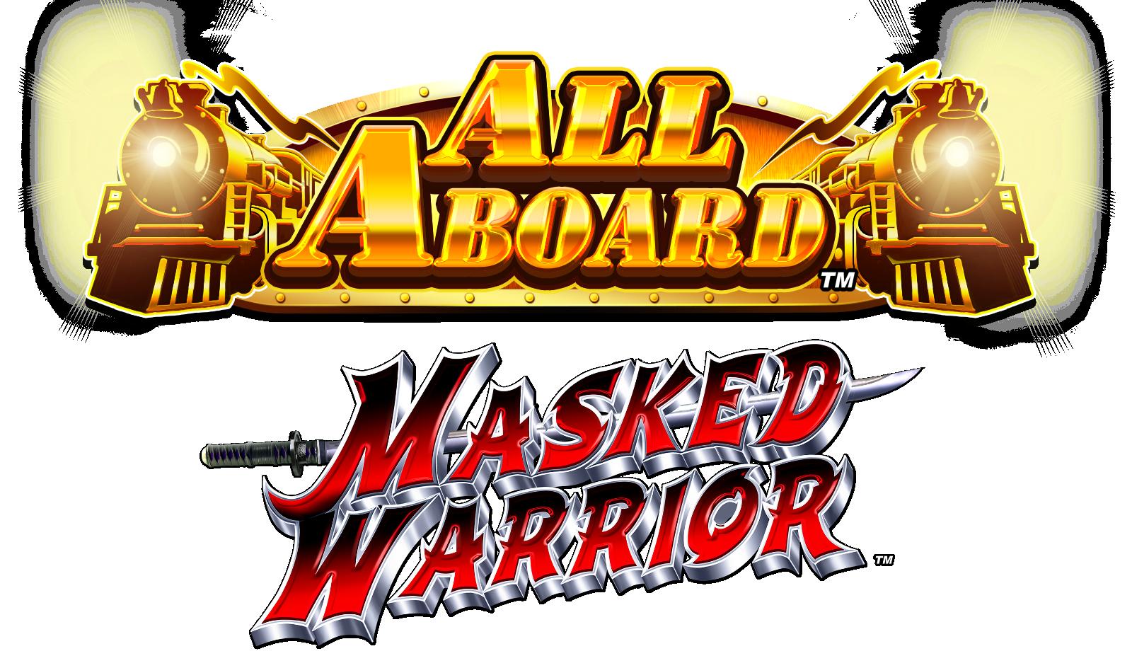 All Aboard Masked Warrior Logo