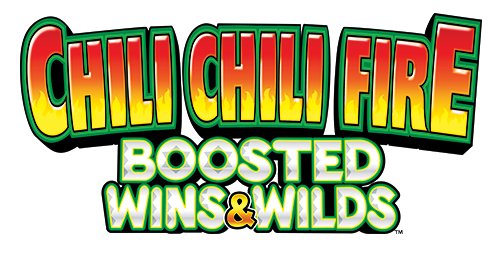 Chili Chili Fire Boosted Wins and Wilds Logo