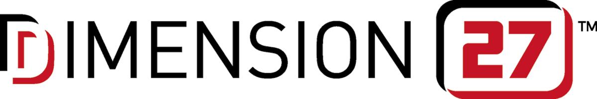 DIMENSION 27 Logo - Full Color