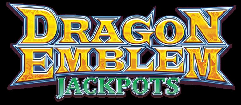 Dragon Emblem Jackpots Logo
