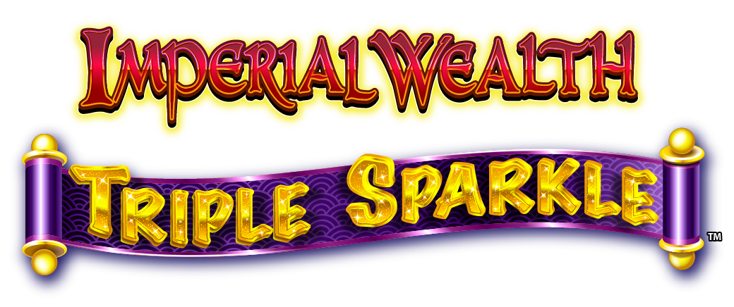 Imperial Wealth Triple Sparkle Logo