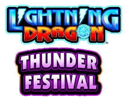 Lightning Dragon Thunder Festival Logo