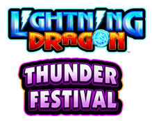 Lightning Dragon Thunder Festival Logo