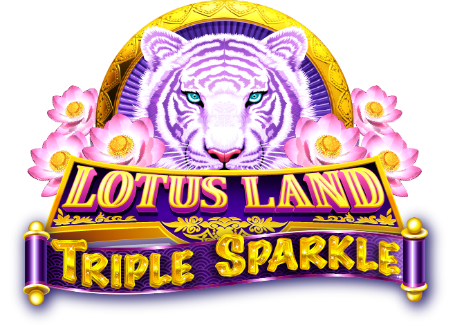 Lotus Land Triple Sparkle Logo