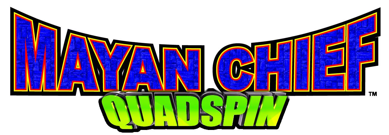 Mayan Chief Quad Spin Logo