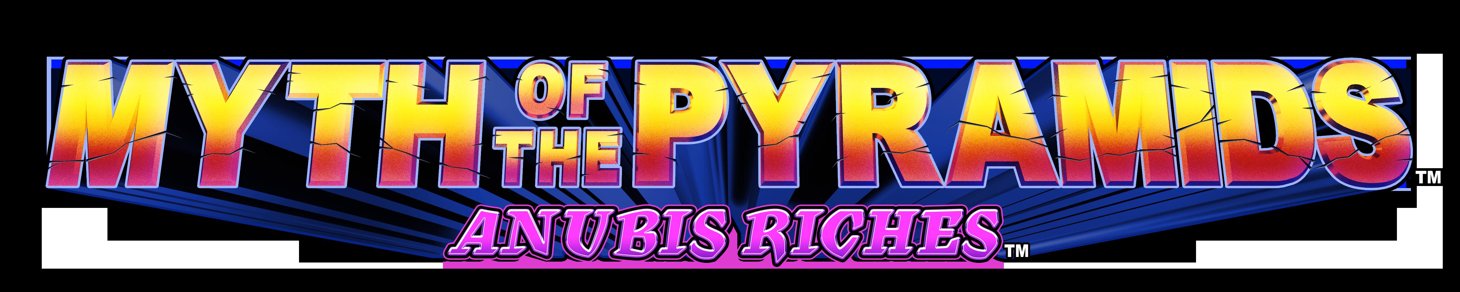 Myth of the Pyramids Anubis Riches Logo