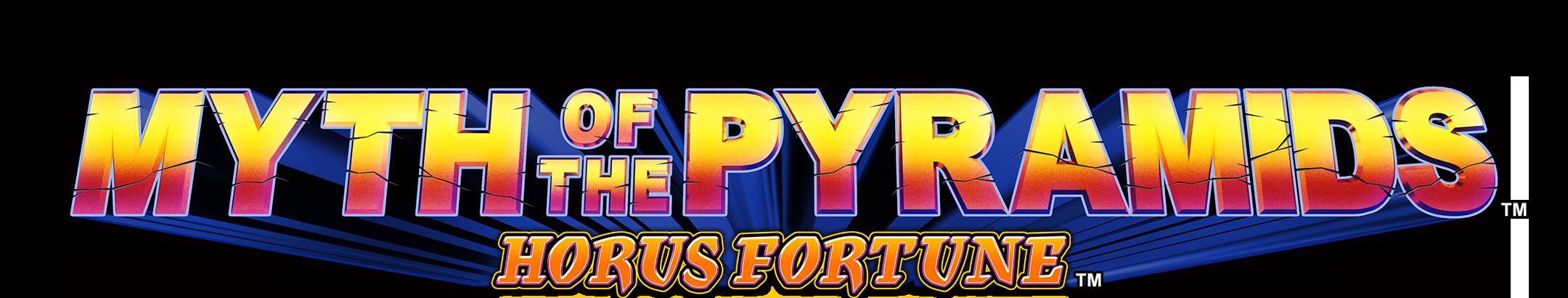 Myth of the Pyramids Horus Fortune Logo