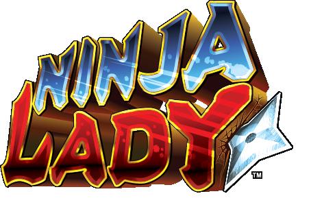 Ninja Lady Logo