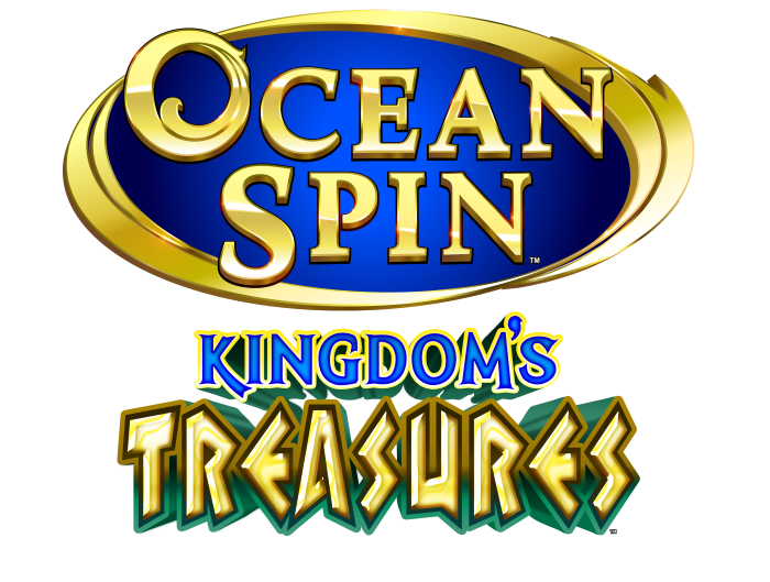 Ocean Spin Kingdoms Treasures Logo
