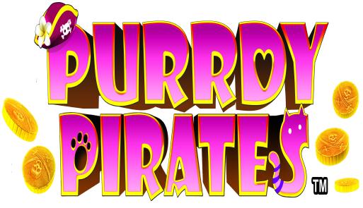 Purrdy Pirates Logo