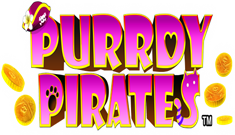 Purrdy Pirates Logo
