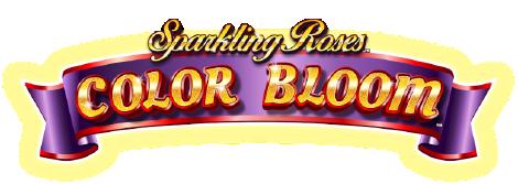 Sparkling Roses Color Bloom Logo